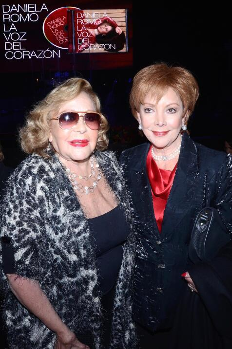 Silvia Pinal y Jacqueline Andere fueron a una fiesta de Daniela Romo.