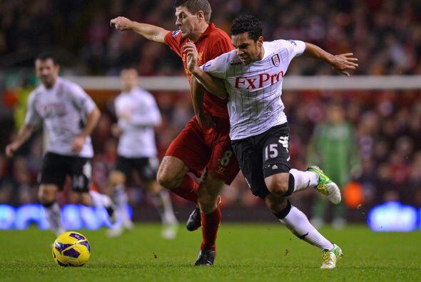 'Stevie G' mostró su liderazgo en el partido de su Liverpool cont...
