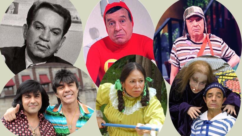 Personajes matan de risa Festival del humor