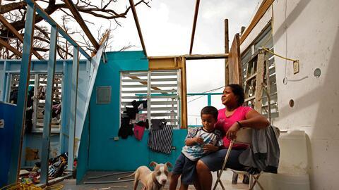 Heydee Perez, de 29 años, con su hijo Yenel Calera. La madre aseg...