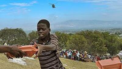 Dinos cómo has estado ayudando a la gente de Haití a6e1bcc319f04318b058f...