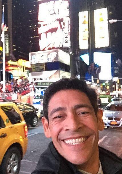 """""""Pasando un fío pelu en NY y divirtiéndome como chamaquito #buenasnoches..."""