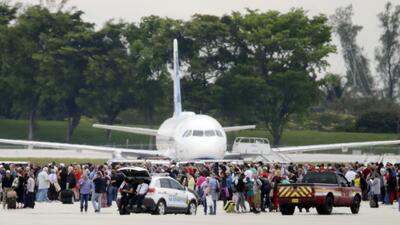 En fotos: Un tiroteo deja varios muertos en el aeropuerto de Fort Lauderdale, en Florida