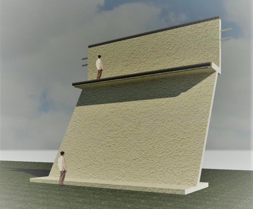 El muro de cortina: Un diseño al estilo de los castillos medieval...