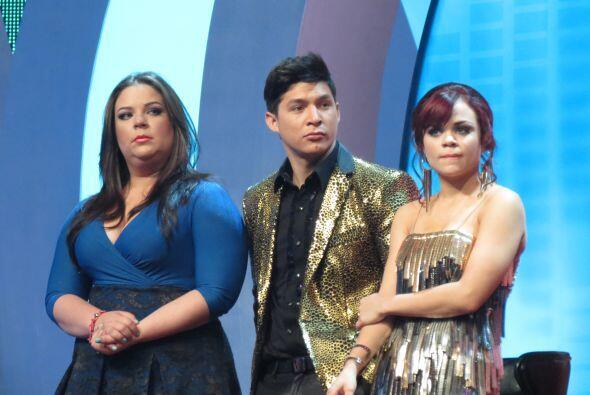 Y los tres chicos restantes de Dulce, Yazaira, Danny y Ana Cristina, así...
