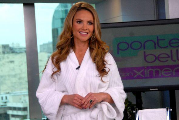 Lista para su regreso a Miami, Ximena Córdoba nos regaló s...