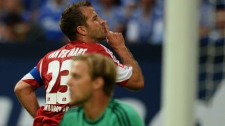 El mediocampista holandés marcó un gol contra el Stuttgart.