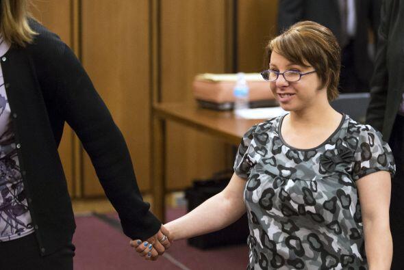 Inesperadamente, al juicio arribó Michelle Knight quien le dijo a Castro...