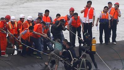 Naufragio en China deja muertos y desaparecidos
