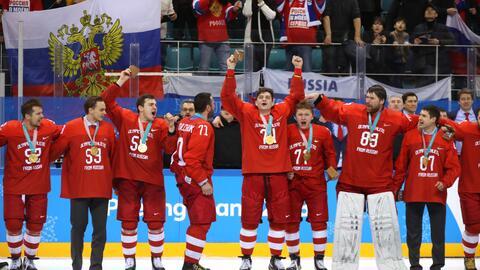 Los integrantes del equipo Hockey, que ganó el oro, fueron los m&...