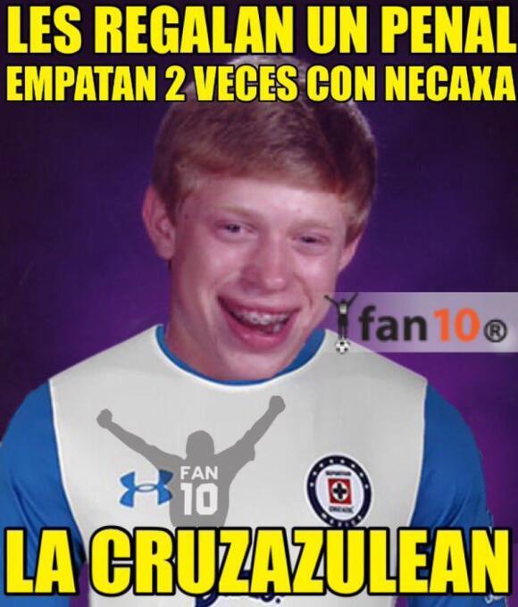 Memes de la caída de Cruz Azul en Copa MX