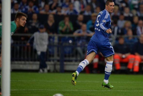 Fue una gran noche para el goleador español Fernando Torres.