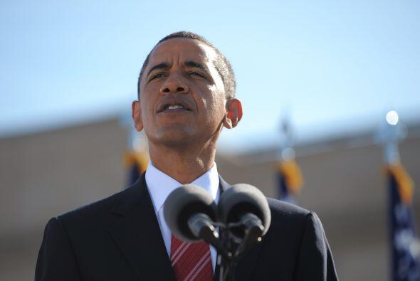 En su discurso radiofónico de los sábados, Obama dijo que...