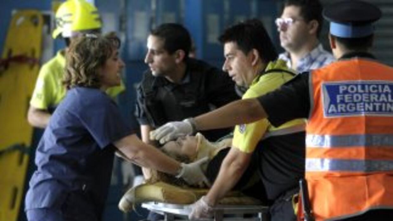 El choque ocurrió en la ruta 9 en el cruce de la estación Ingeniero Rómu...