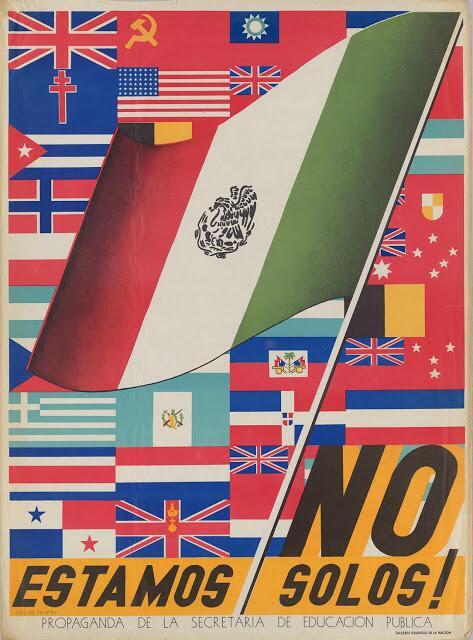 21 carteles anti-nazis creados en México No Estamos Solos!.jpg