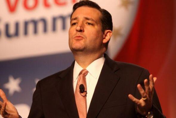 Ted Cruz, senador republicano por Texas, se hizo famoso por su ofensiva...