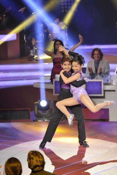 Melissa y Jarek son una de las parejas finalistas...