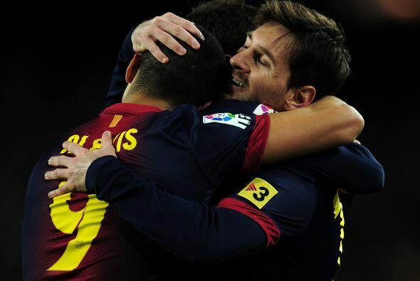 Faltaba la rúbrica, convertida por quién más si no Messi.