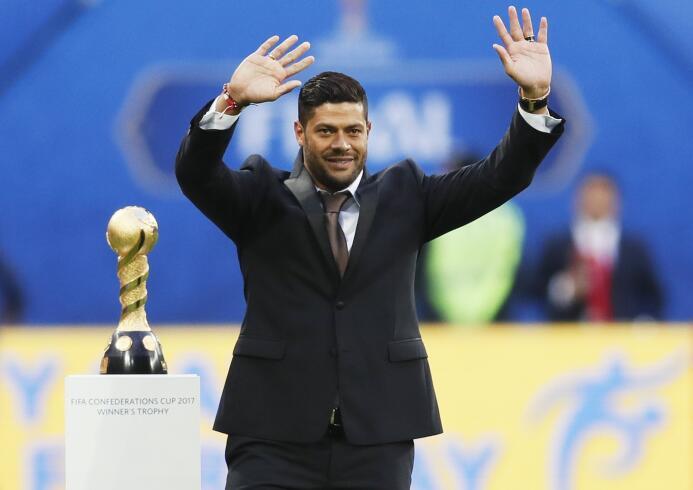 Grandes leyendas del fútbol en la final de la Confederaciones 6363462209...