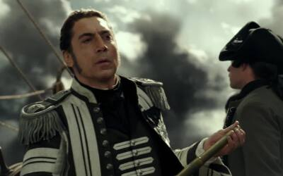 'Pirates of the Caribbean': creando a Salazar con Javier Bardem