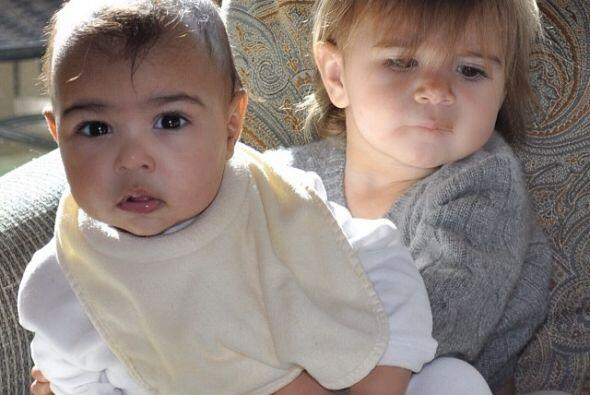 Nos queda claro que Kim Kardashian desea que su nena sea una de las mejo...