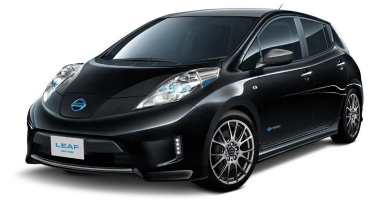 Nissan Leaf Aero Style  del Auto Salón de Tokio