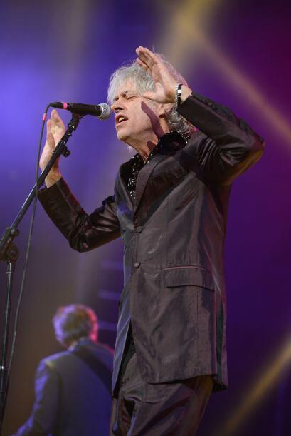 Geldof se ha ganado el respeto y cariño de sus compañeros músicos por es...