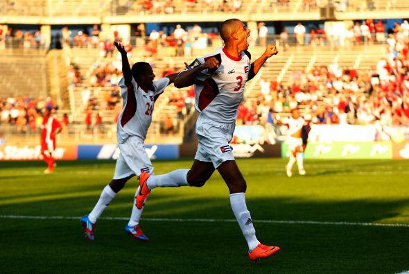 El histórico gol que metió a Cuba a los cuartos de final, lo hizo Jenier...