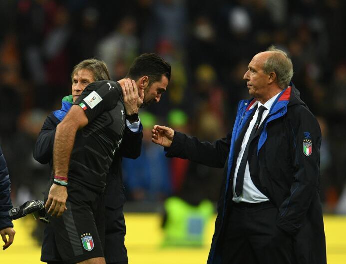 Las lágrimas de un grande: Buffon no alcanzará a 'La Tota' Carba...