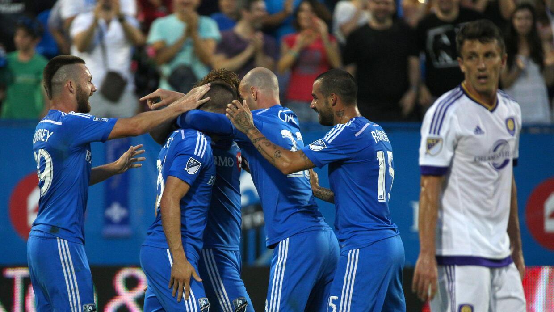 Montreal Impact celebra victoria sobre Orlando City