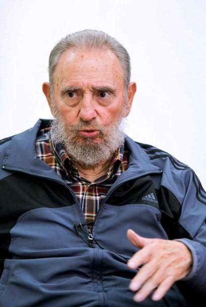 El ex presidente Fidel Castro reapareció en un programa de la tel...