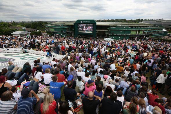 Las semifinales en la Catedral del Tenis quedaron listas en esta novena...