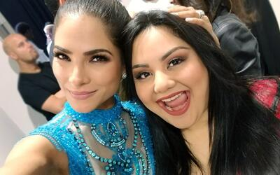 El momento en que Alejandra Espinoza bendice a la próxima estrella de la...