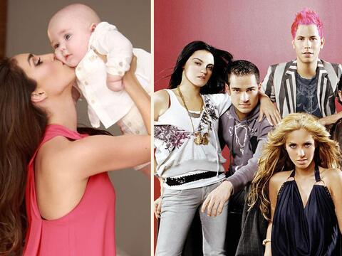 Baby Manuel y Anahí