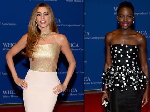 Barack Obama se reunió con varias estrellas de Hollywood en la ga...