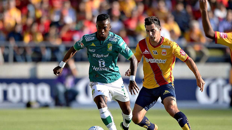 León le dio la vuelta al partido en Morelia.