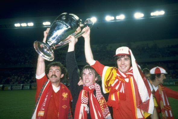 Para 1984 el Liverpool ganó la cuarta 'Champions' en su historia, en int...