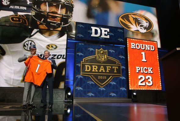 y la selección #23 de Denver fue:  el DE Shane Ray de Missouri (AP-NFL).