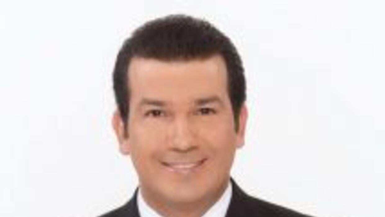 El presentador de Univision 23 Mario Andrés Moreno