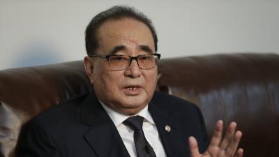 Ri Su Yong, canciller de Corea del Norte