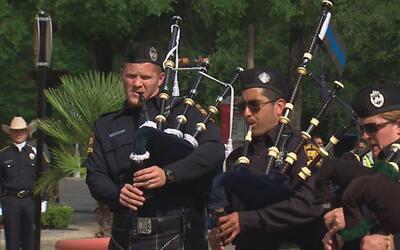 Evento para recordar a los oficiales del condado Bexar que han perdido l...