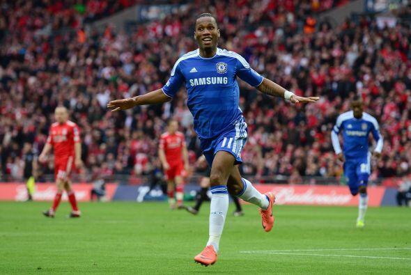 Era el 2 a 0 y los 'Blues' se quedaban con la Copa.