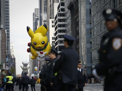 Desfile de Thanksgiving en NY.