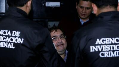 In photos: the arrest in Guatemala of Javier Duarte, former governor of Veracruz