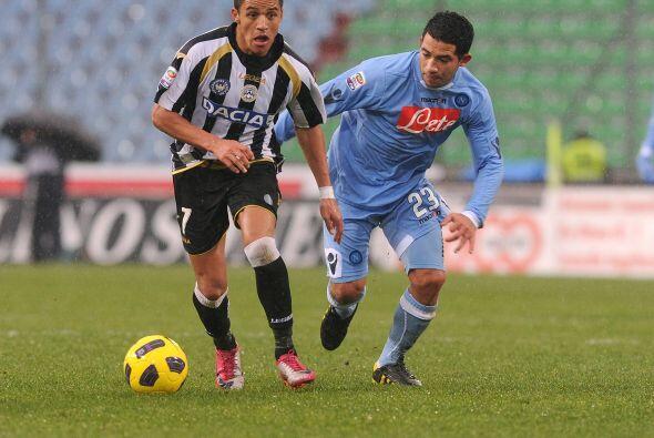 Udinese tuvo en el atacante Antonio Di Natale a su mejor jugador y la fi...