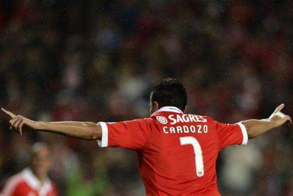 El 'Tacuara' comandó al Benfica en el partido ante el Guimaraes.