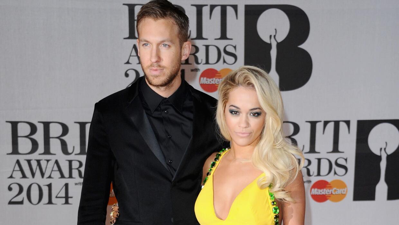 Rita Ora habló de su ruptura con Calvin Harris.