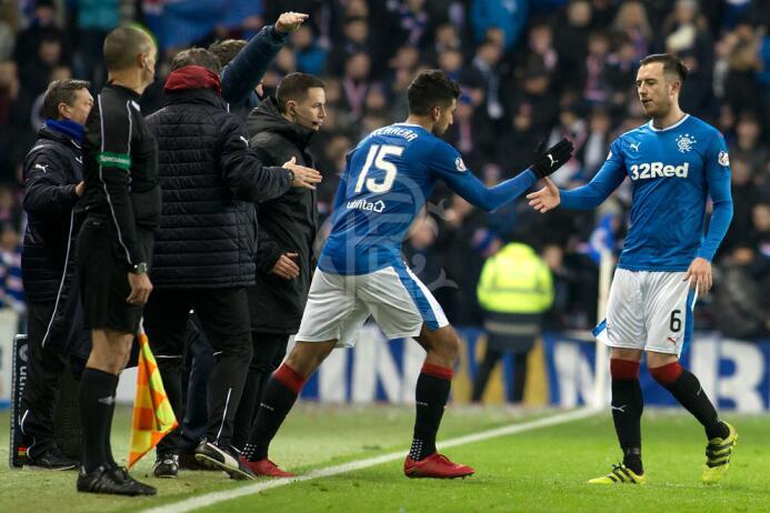 Sábado 23 de diciembre - Kilmarnock Vs. Rangers: Eduardo Herrera y Carlo...