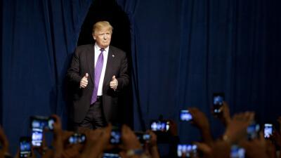 Donald Trump en Las Vegas.