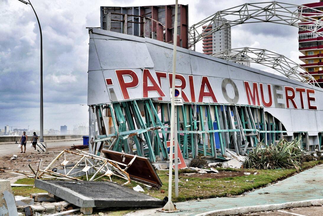 Fotos: El huracán Irma hace añicos muchos de los ruinosos edificios de L...